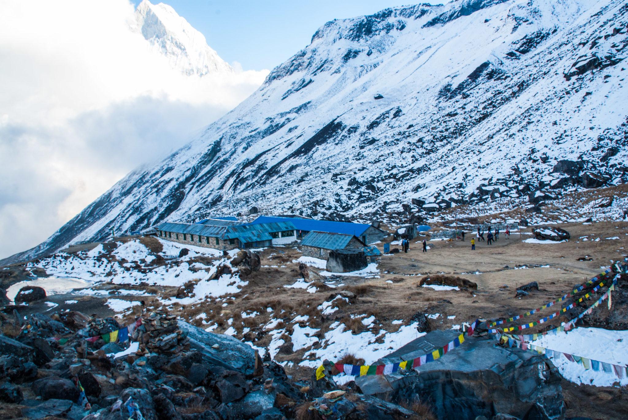Annapurnas enneigés
