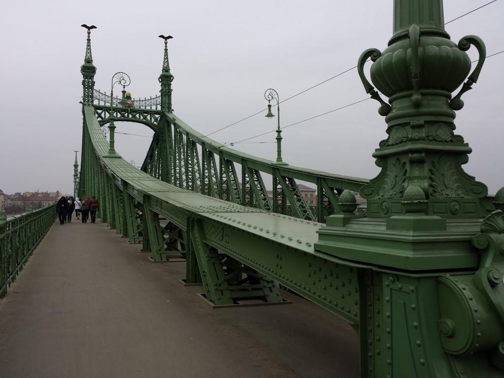 Le pont vert de Budapest