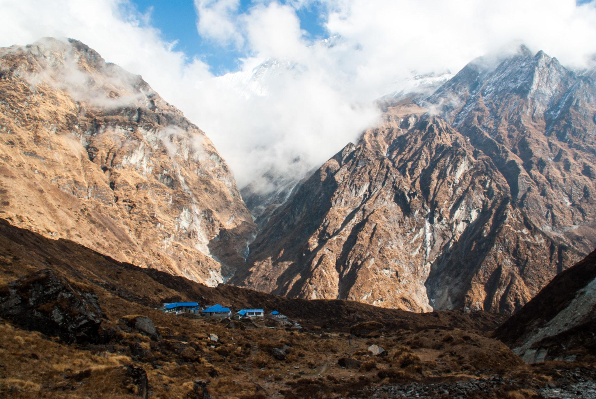 Montagnes en Himalaya