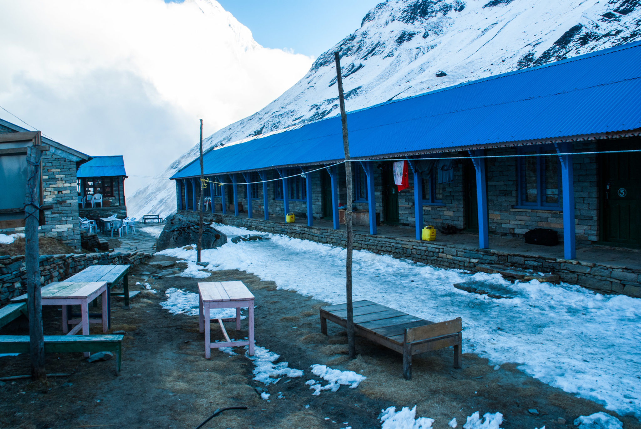 Camp de base de l'Annapurna