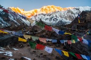 Lever du jour annapurna