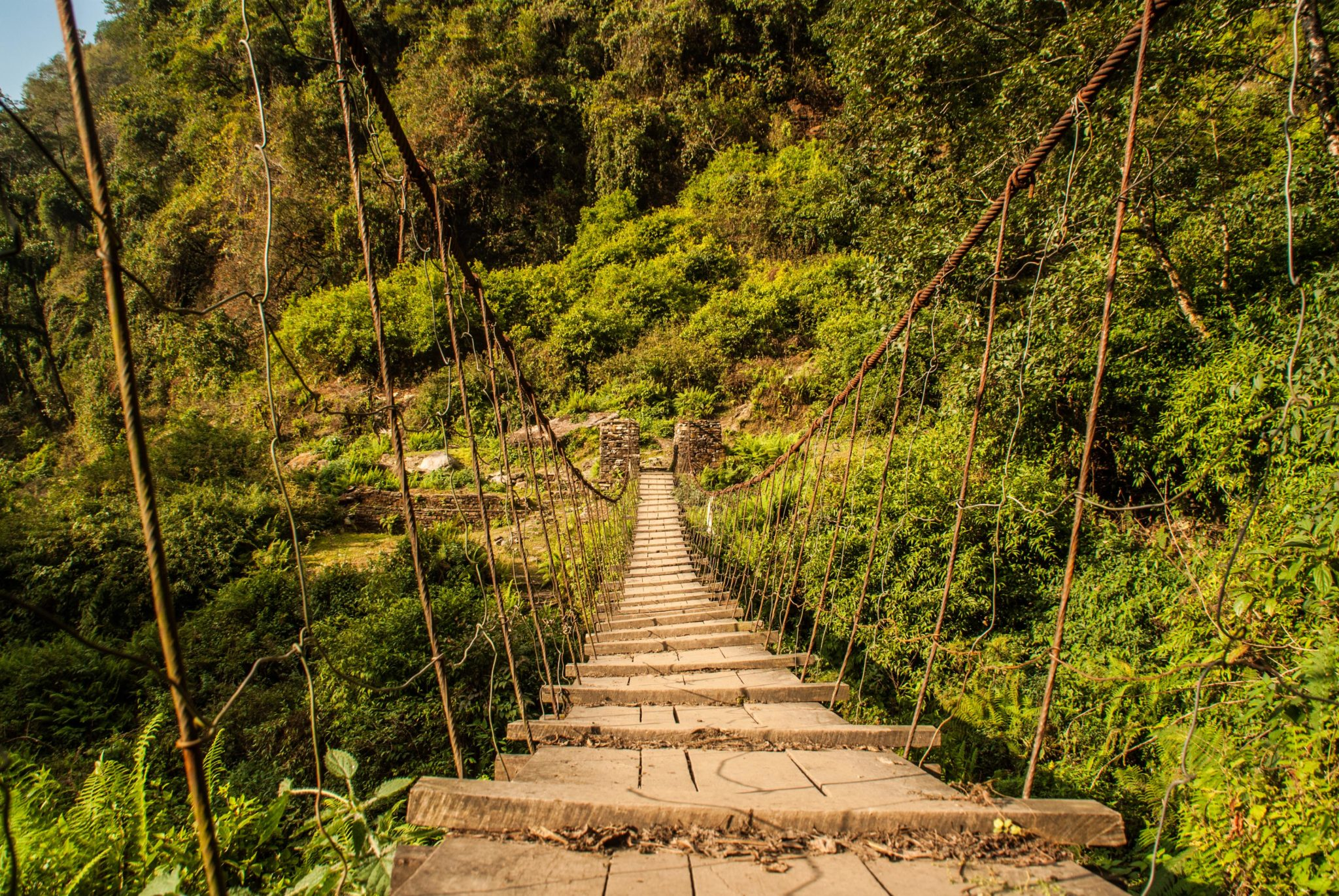Pont à traverser