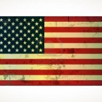 Le drapeau des Etats Unis
