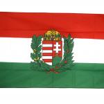 drapeau-hongrie-avec-blason