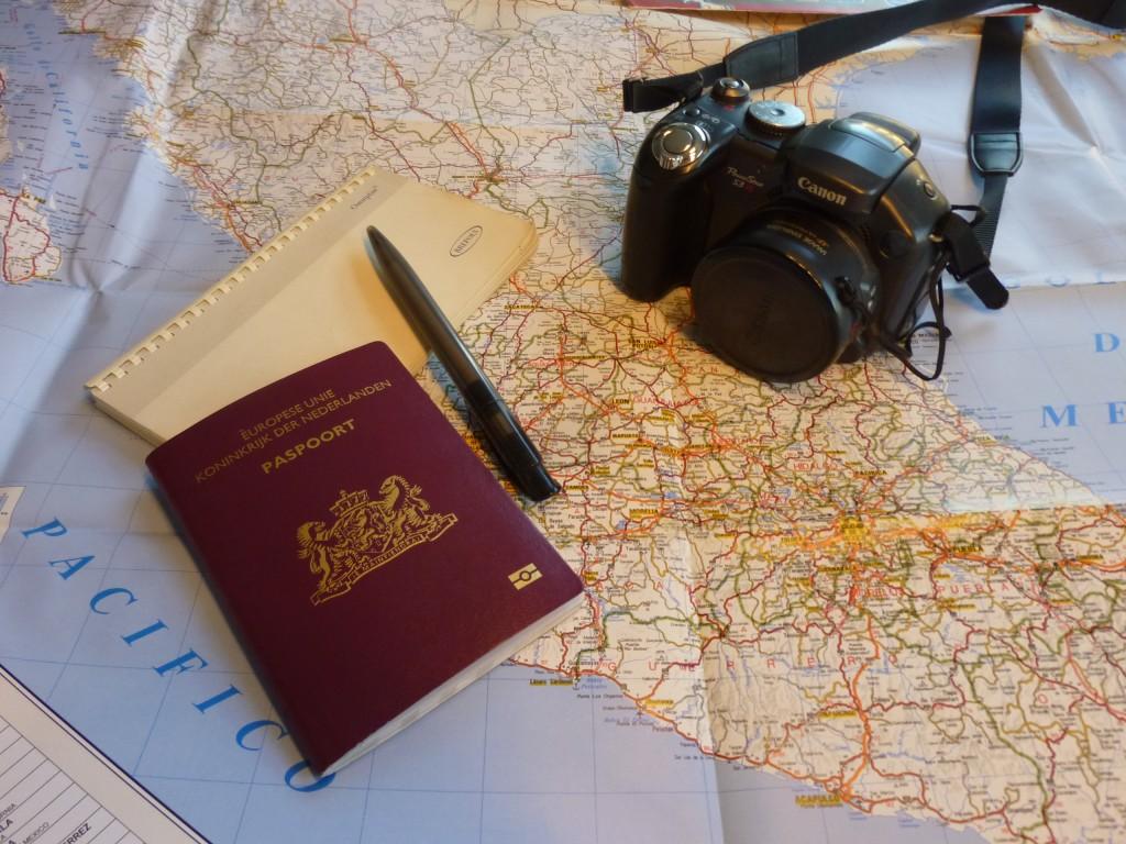 Préparation d'un voyage autour du monde
