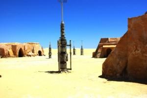 Décors de Star Wars à Chott El-Gharsa