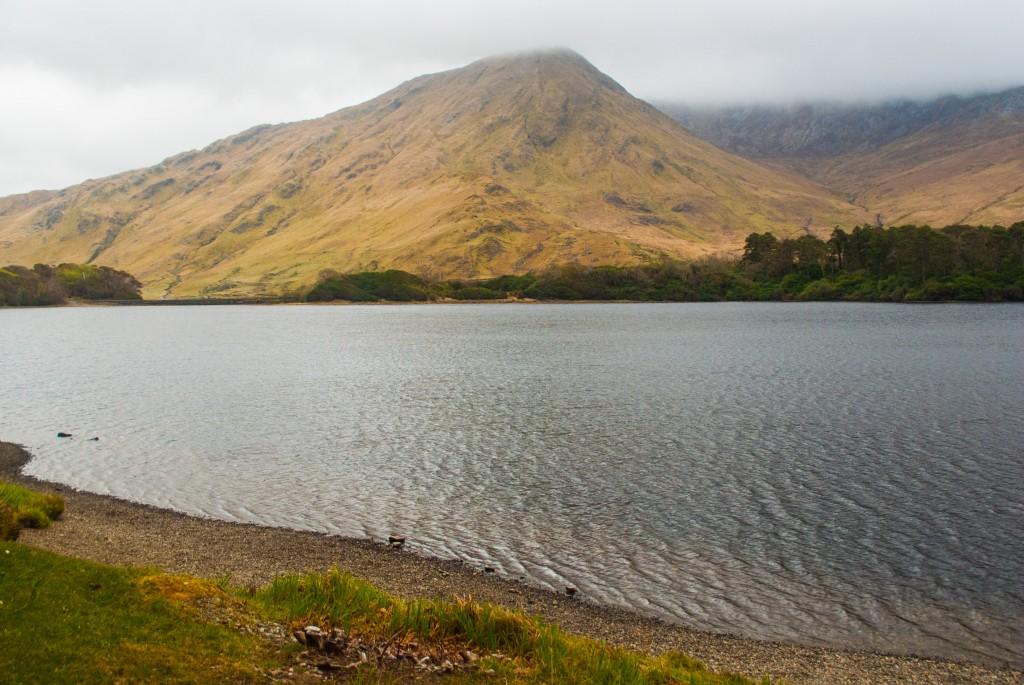 Un lac du connemara