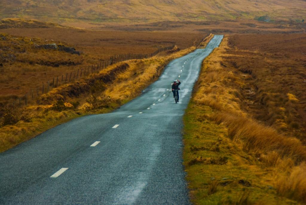 Balde à vélo au Connemara