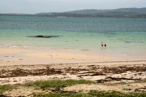 Une plage du connemara