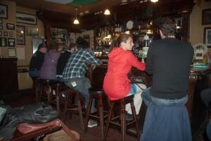 Intérieur d'un Pub irlandais