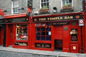 Le fameux Temple Bar
