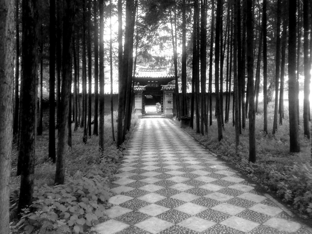 un temple dans le Yunnan