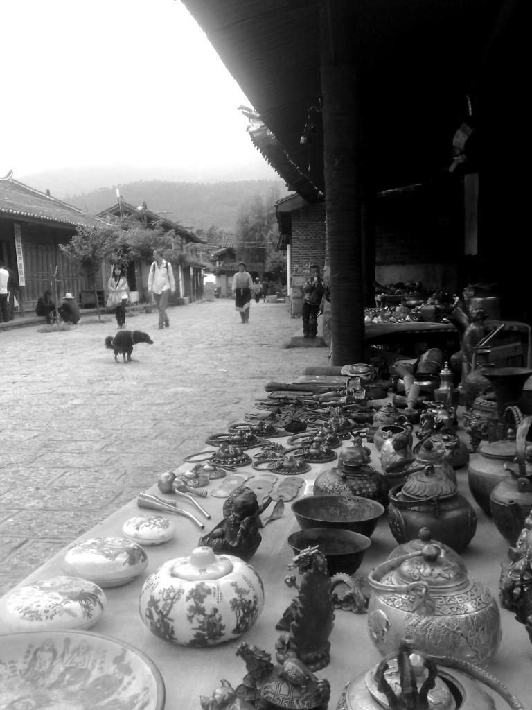Toujours dans le Yunnan, quelques souvenirs pour les touristes