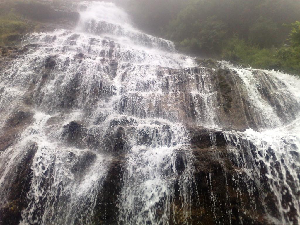Une cascade en Chine