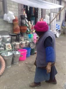 un marché en Chine