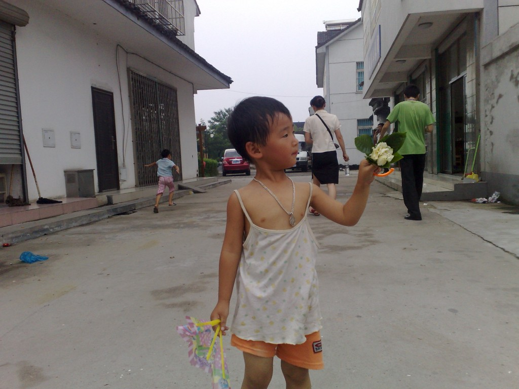 Un enfant qui joue