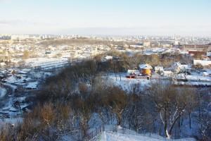 Vue sur Kiev