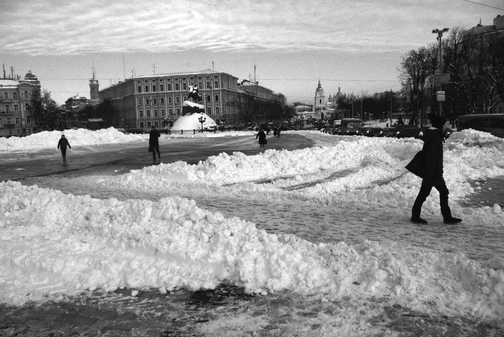 La place principale de kiev