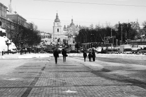 Une cathédrale de Kiev