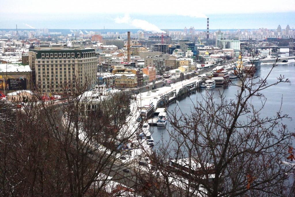 Kiev sous la neige