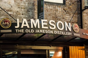 la distillerie jameson en Irlande