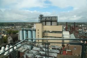 Vue sur Dublin depuis la guinness factory