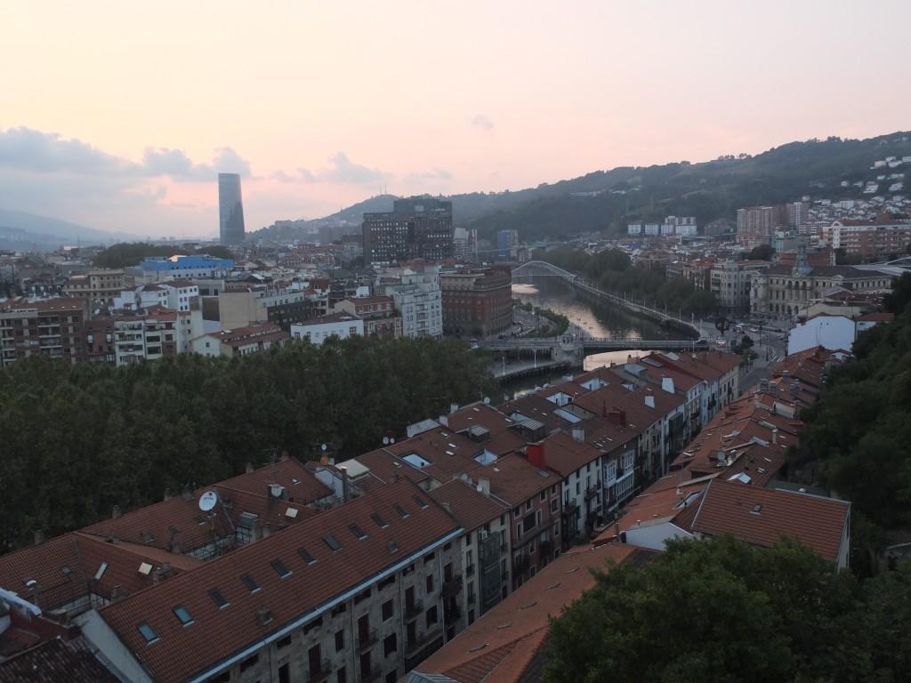 Les toits de Bilbao