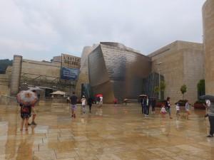 Entrée du musée Guggenheim