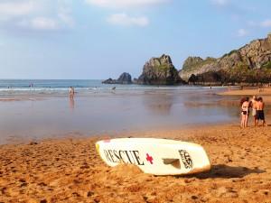 Une plage au pays basque