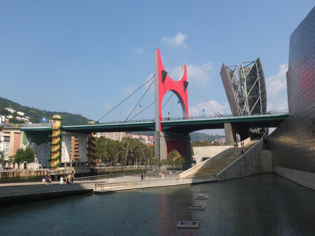 Le pont du musée Guggenheim
