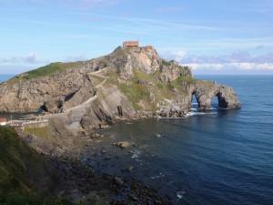 Sanctuaire sur une île