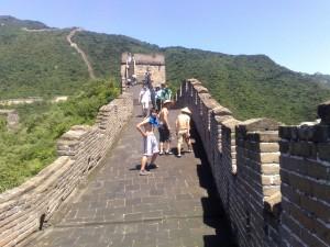 La muraille de Chine à Mutianyu