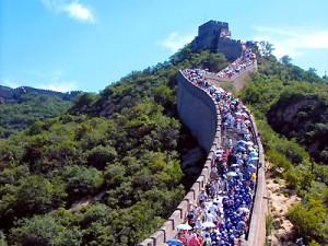 muraille de Chine à Badaling