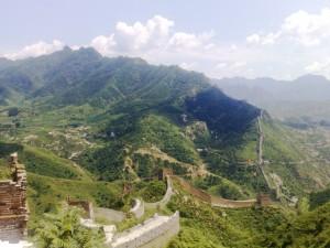 La muraille de Chine à Simatai