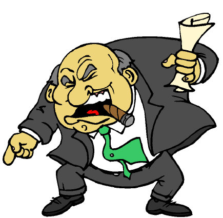 angry manager clipart - photo #14