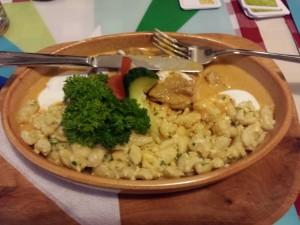 un plat hongrois