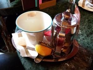 Thé au café Gerbeaud