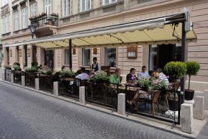 Terrasse à Budapest