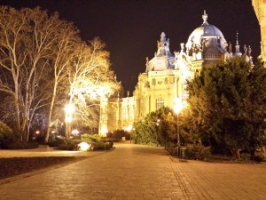 Un château à Budapest