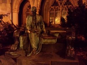 Une statue à Budapest