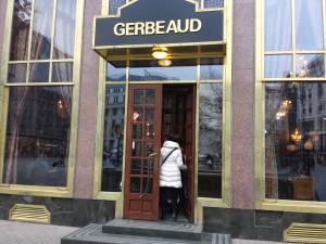 Le café Gerbeaud