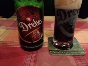 Bouteille d bière Dreher