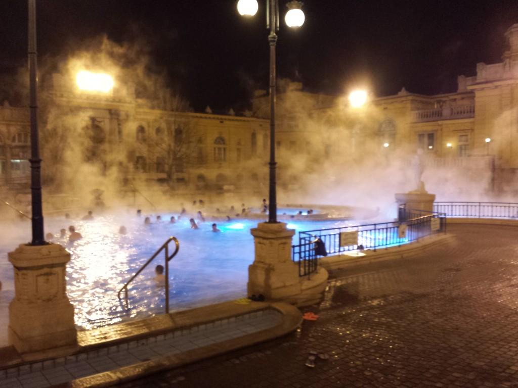 Vue extérieure des bains Szechenyi