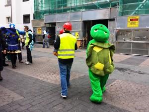Une tortue à Düsseldorf
