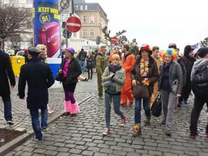 Le carnaval dans le centre ville