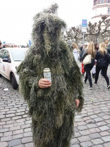 Deguisement camouflage