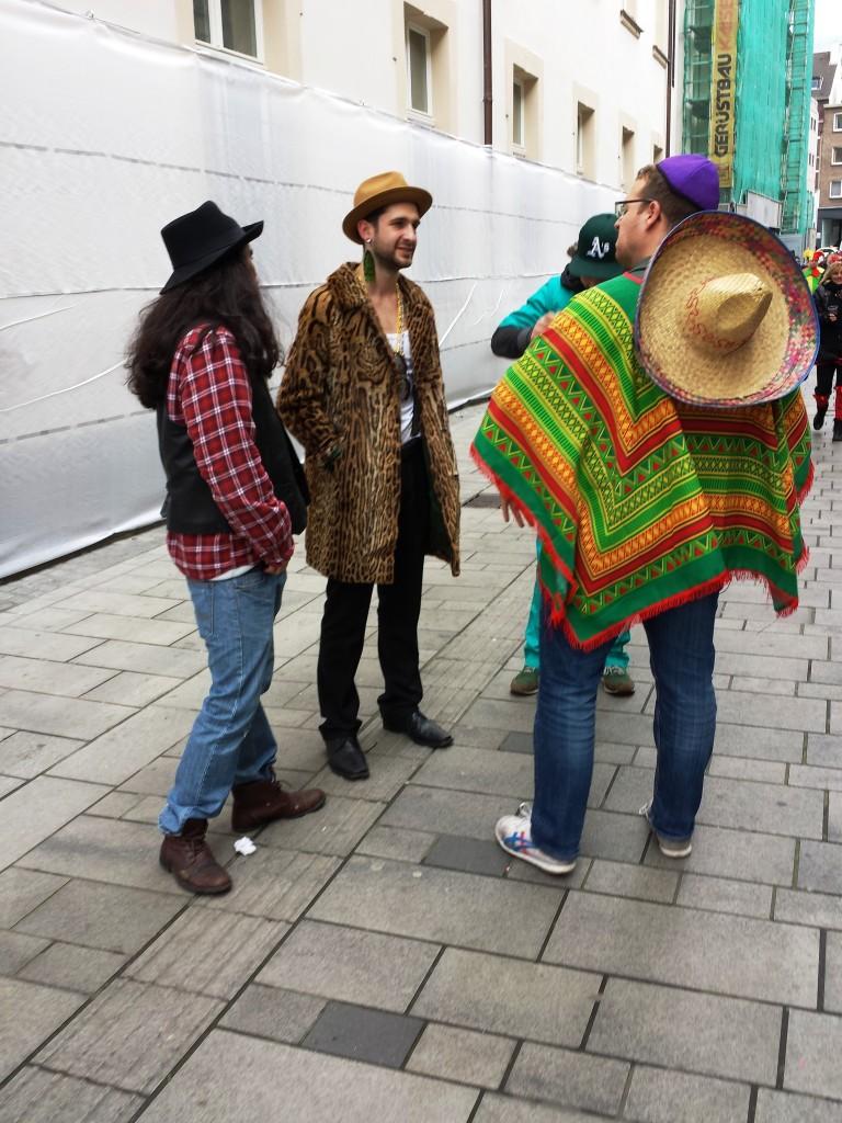 Dsicussion à Düsseldorf