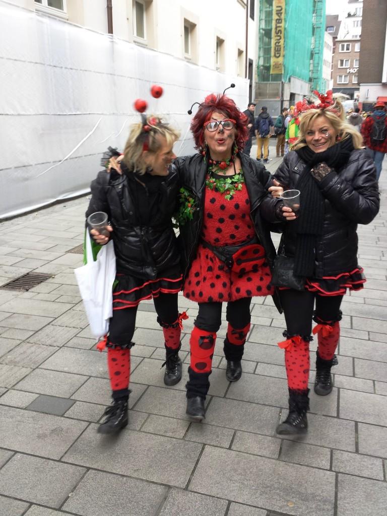 Au carnaval de Düsseldorf