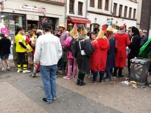 Dans les rues de Düsseldorf