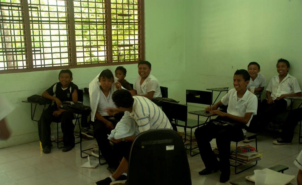 Cours d'anglais volontariat au Mexique